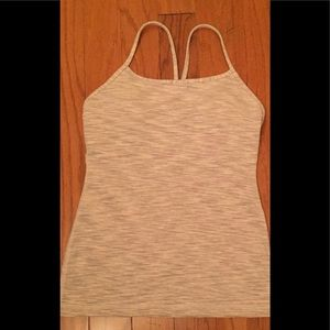 Lululemon power y tank with suppport